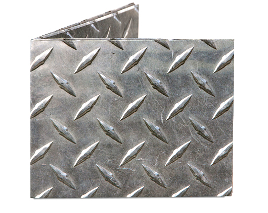 Mighty Wallet Diamond Plate