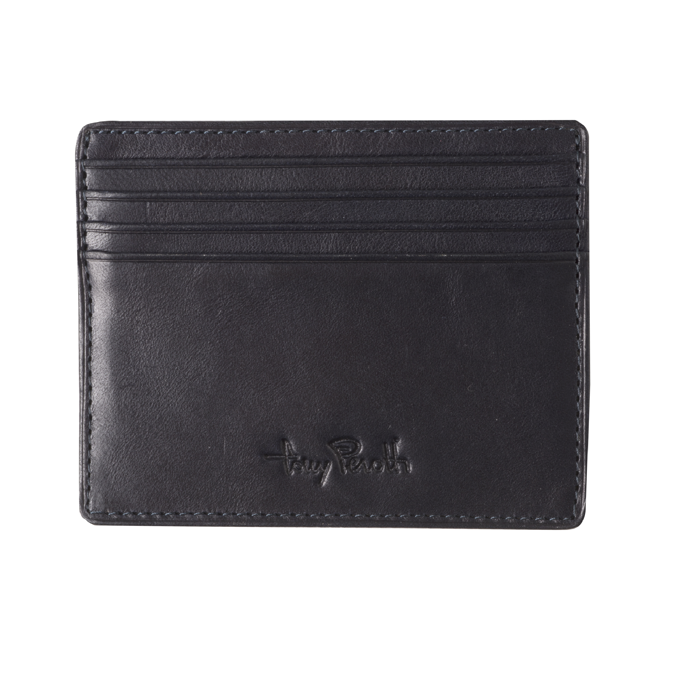 Tony Perotti Creditcard wallet With Small Pocket for notes Black
