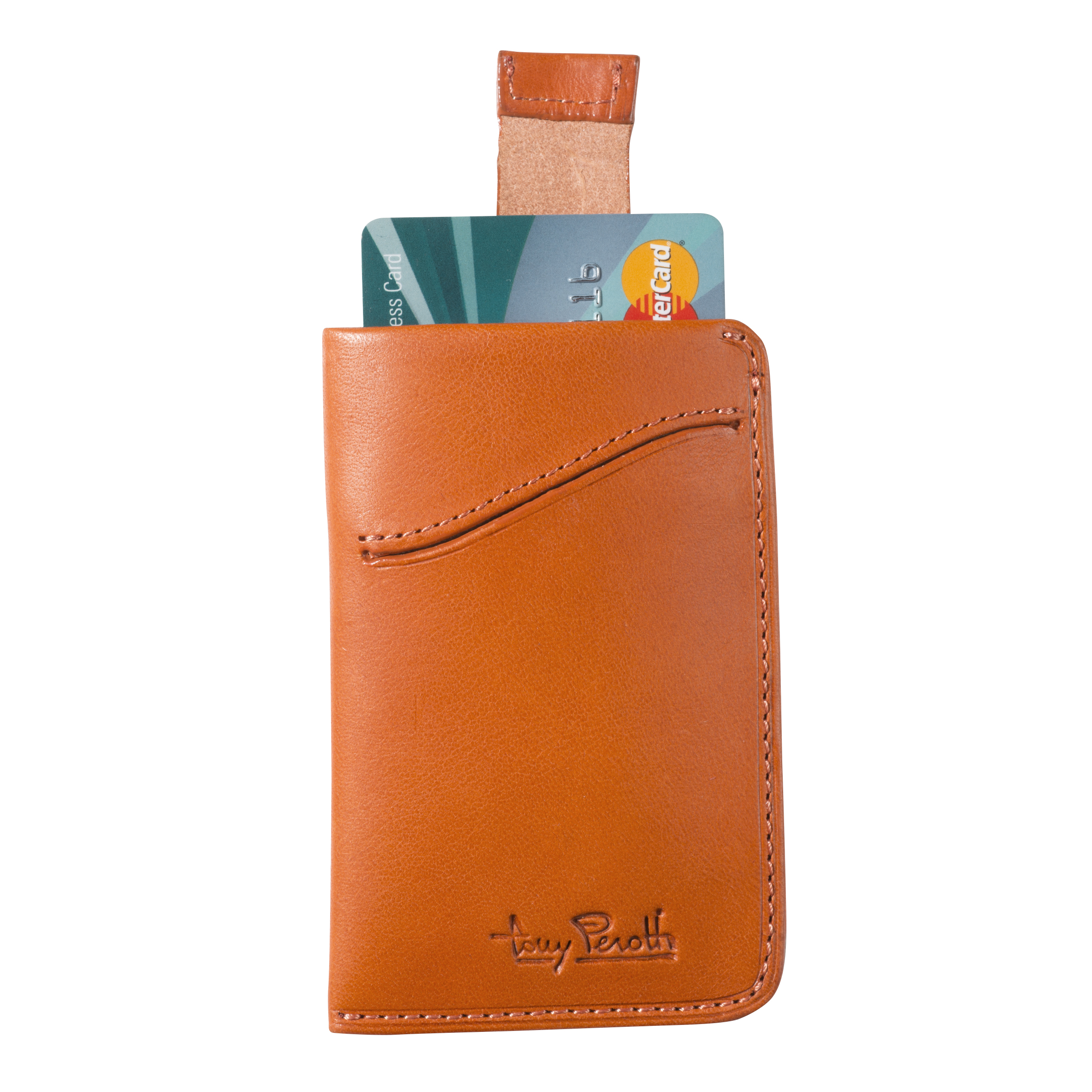 Tony Perotti Creditcard Wallet with Pull up System Orange